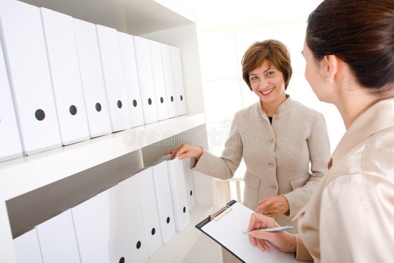 bizneswomanów pracy zdjęcie stock