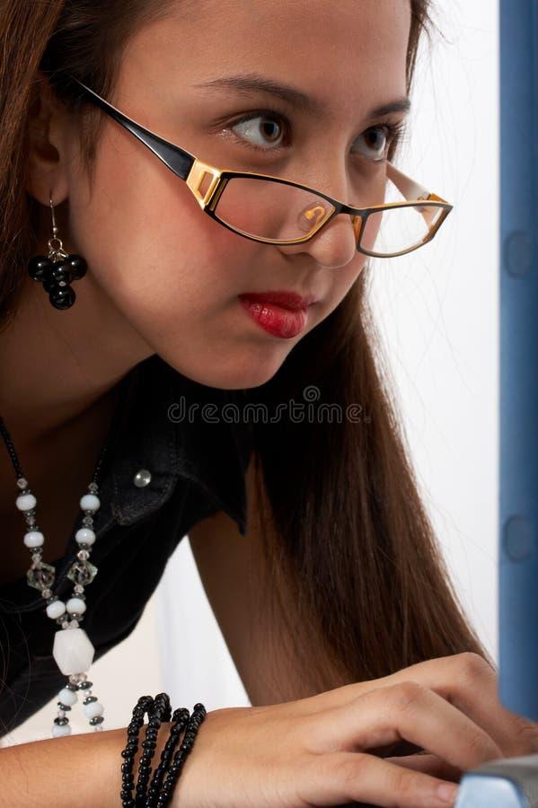 bizneswomanów young zdjęcia stock