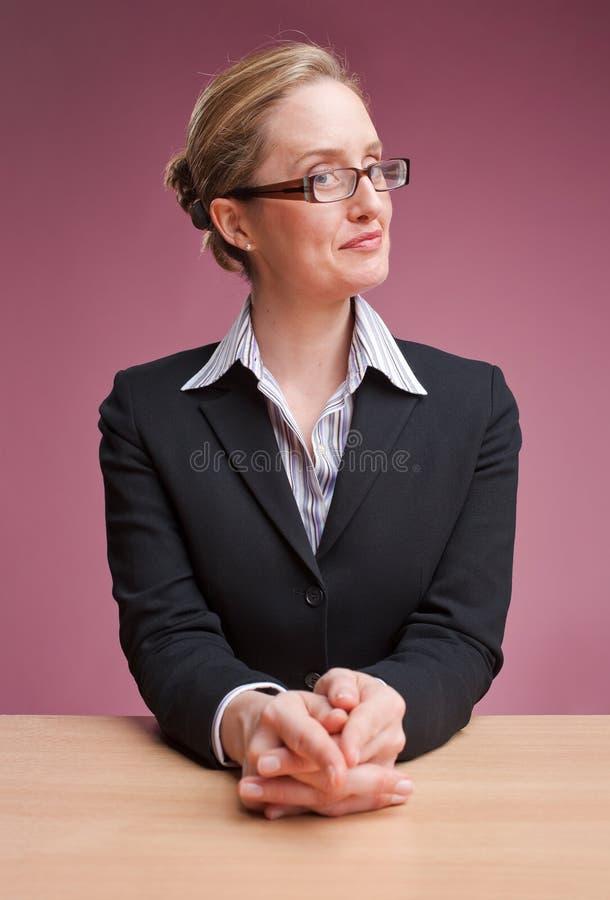 bizneswoman życzliwy obraz royalty free