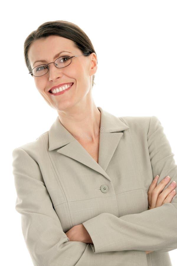 bizneswoman dojrzały fotografia stock