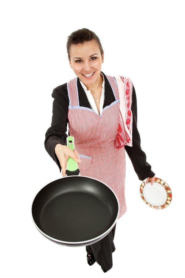 Bizneswoman i gospodyni domowa męczyliśmy - ogólnoludzkiej super kobiety obraz royalty free