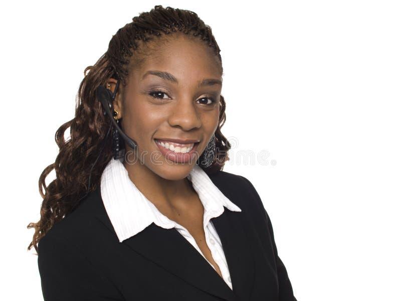 Bizneswoman - Obsługa Klienta obrazy royalty free