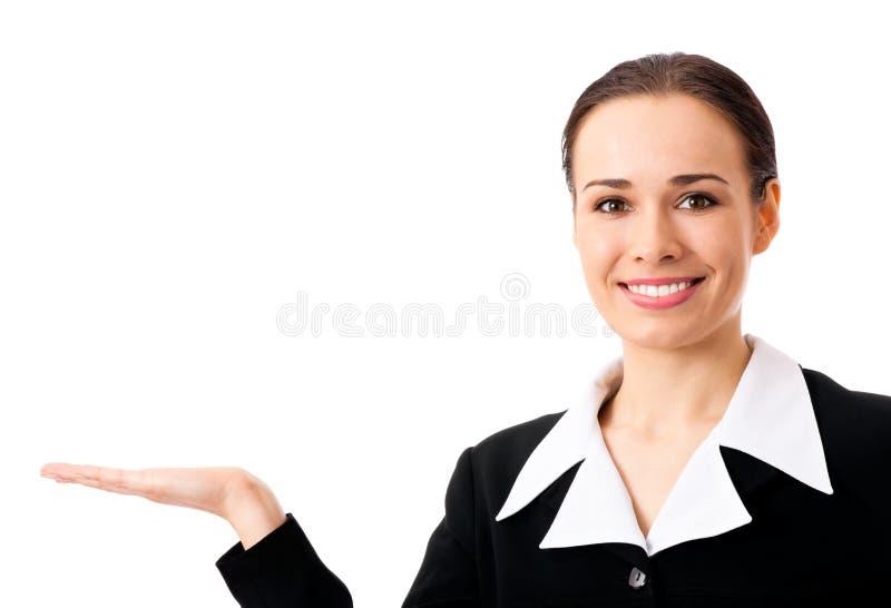 bizneswoman odizolowywający seans zdjęcia royalty free