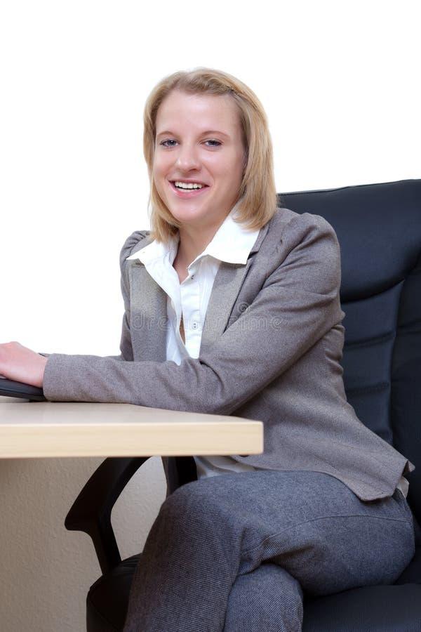 bizneswoman pomyślny obraz stock