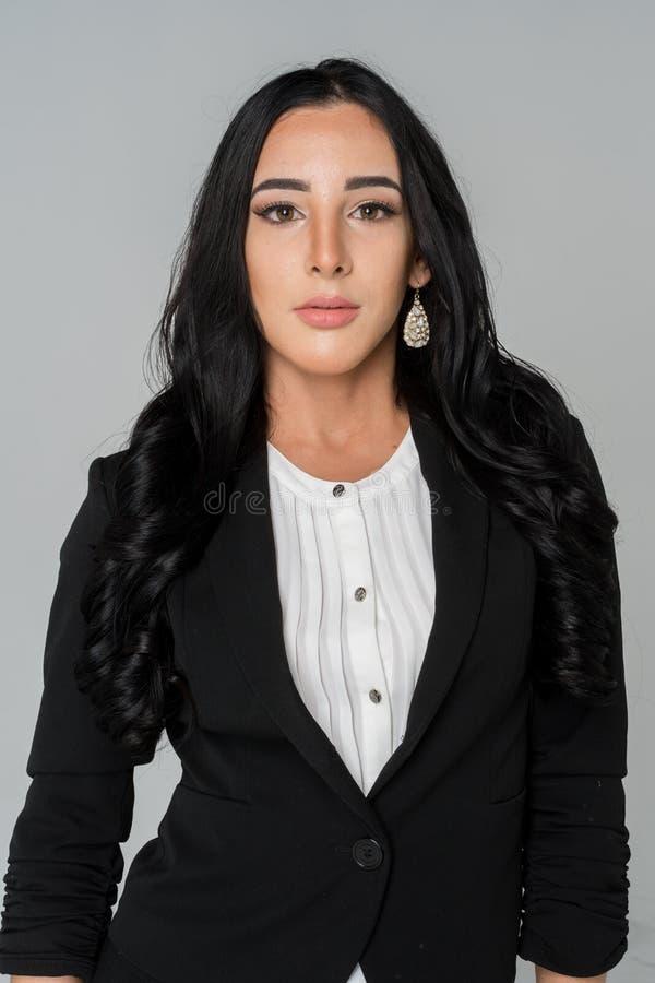 Bizneswoman przy pracą zdjęcia stock