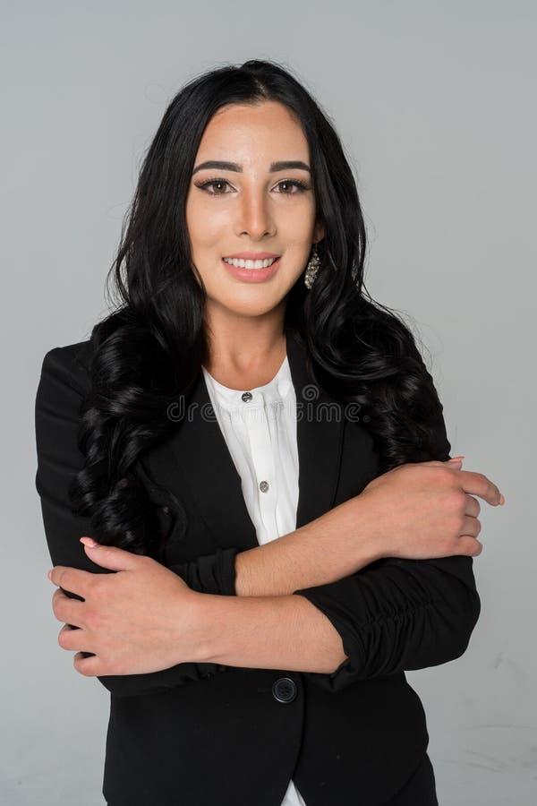 Bizneswoman przy pracą zdjęcie stock