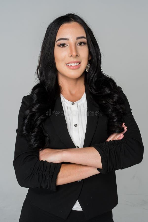 Bizneswoman przy pracą zdjęcie royalty free