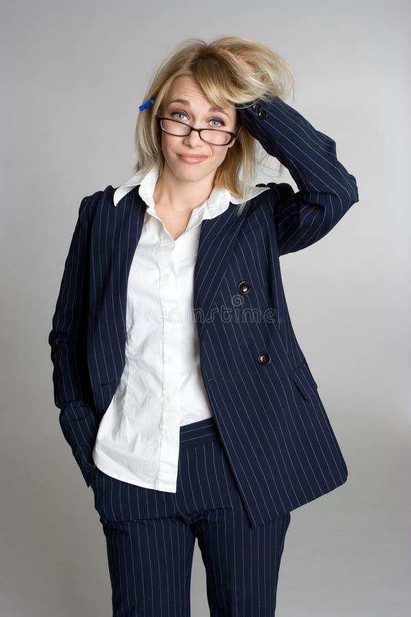 bizneswoman stresujący się obrazy royalty free