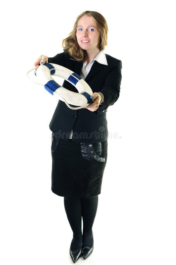 bizneswomanu życia pierścionek zdjęcie royalty free