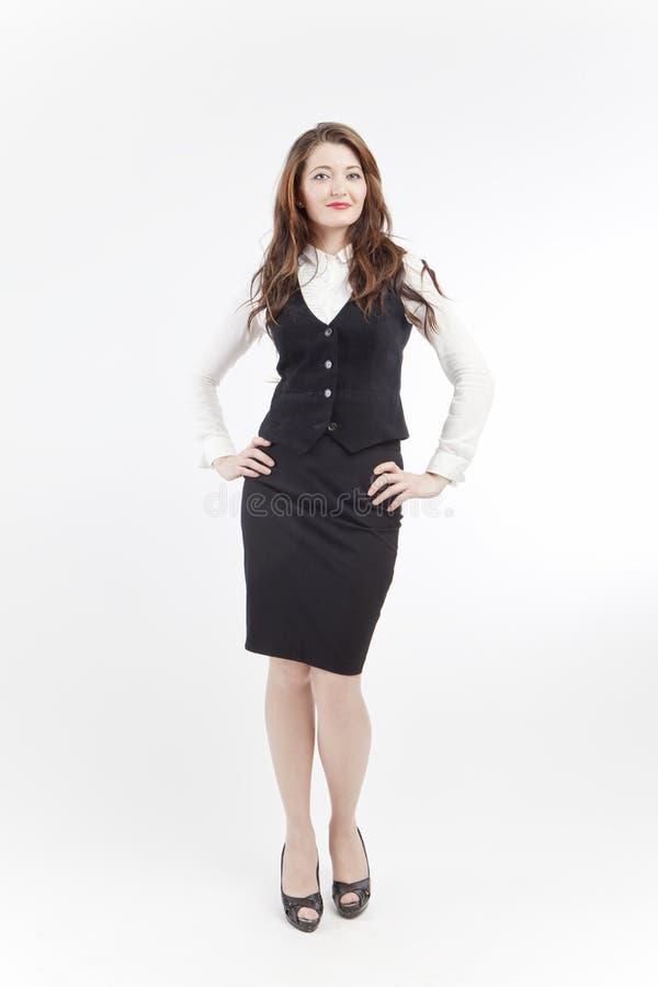 bizneswomanu ja target1236_0_ zdjęcia royalty free
