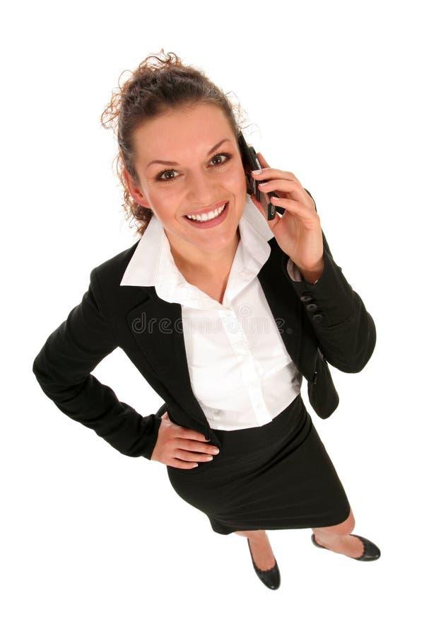 bizneswomanu rozmawiać z telefonu zdjęcie royalty free