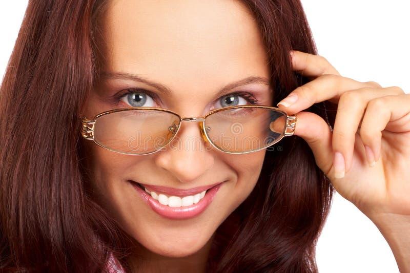 bizneswomanu uśmiecha się fotografia royalty free