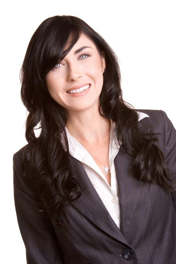 bizneswomanu uśmiecha się obraz stock