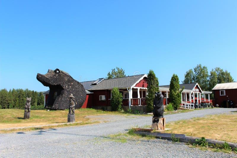 Björnstugan в ngermanland Ã… стоковое фото