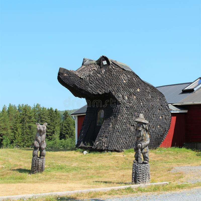 Björnstugan в ngermanland Ã… стоковые изображения