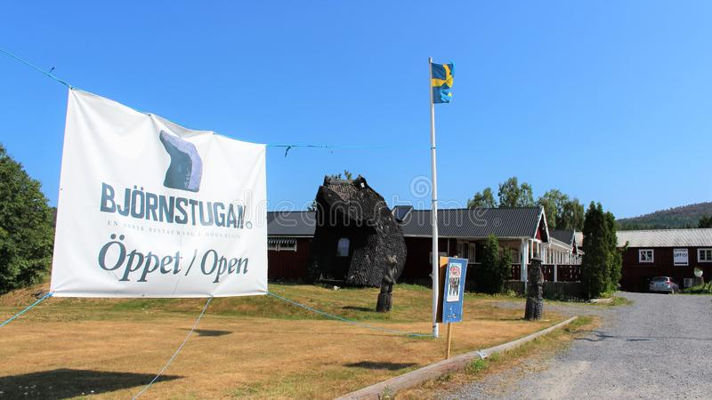 Björnstugan в ngermanland Ã… стоковые фото