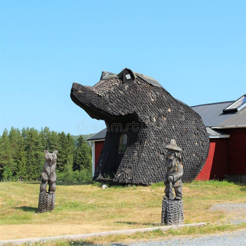 Björnstugan no ngermanland de Å imagens de stock