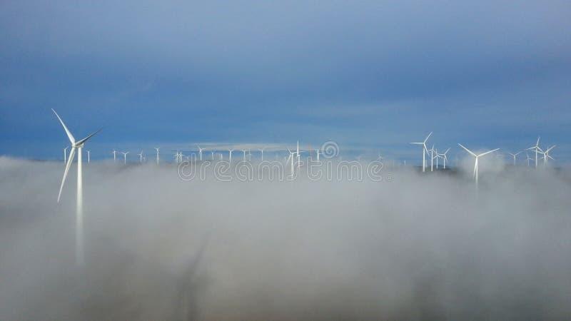Björkhöjden-Windpark lizenzfreies stockbild