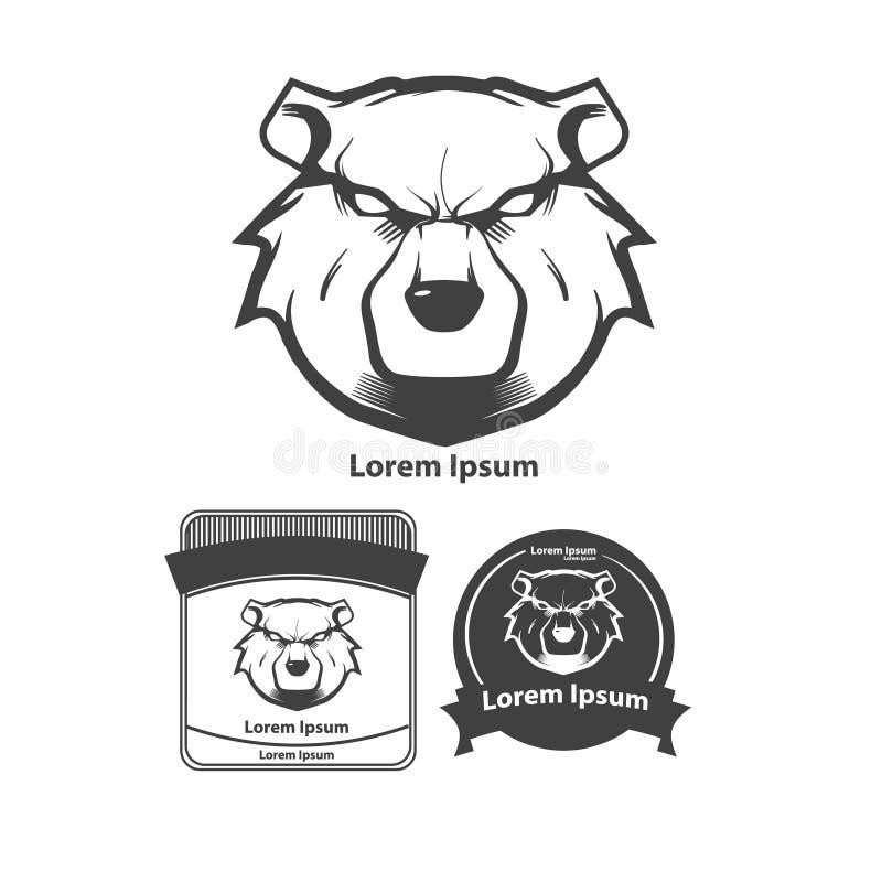 Björn royaltyfri illustrationer