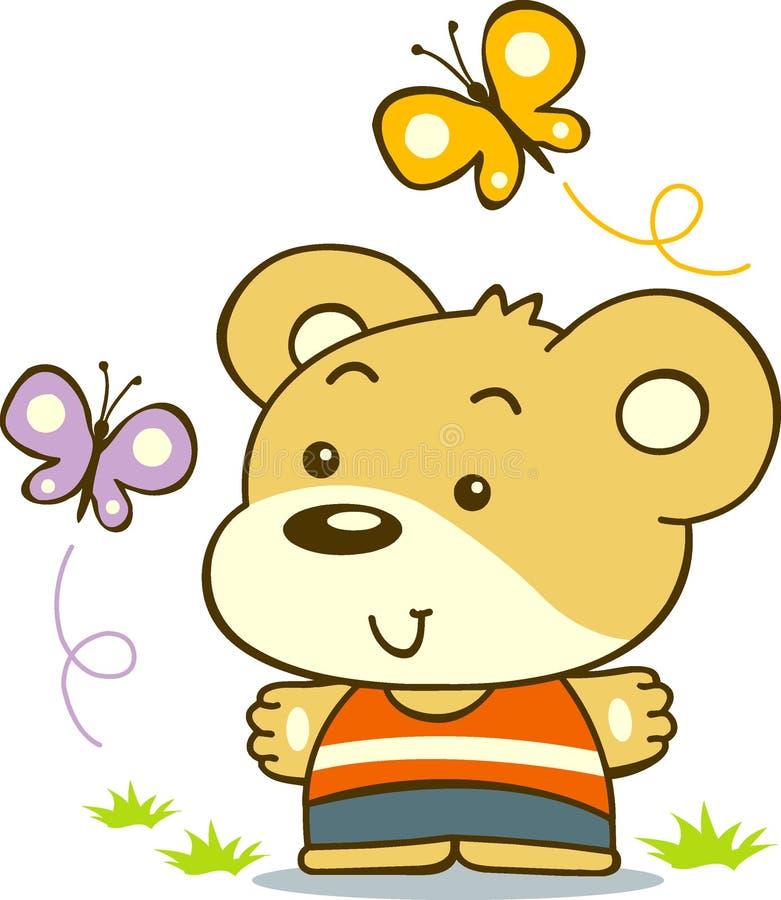 björn little stock illustrationer