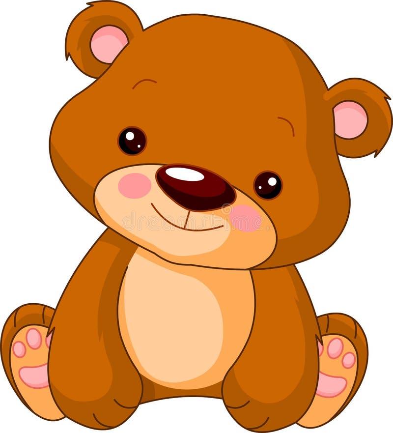 björngyckelzoo vektor illustrationer