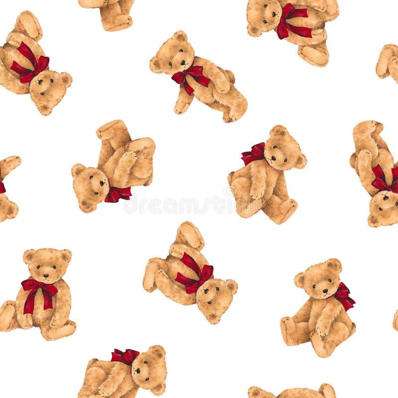 Björnillustrationmodell fotografering för bildbyråer