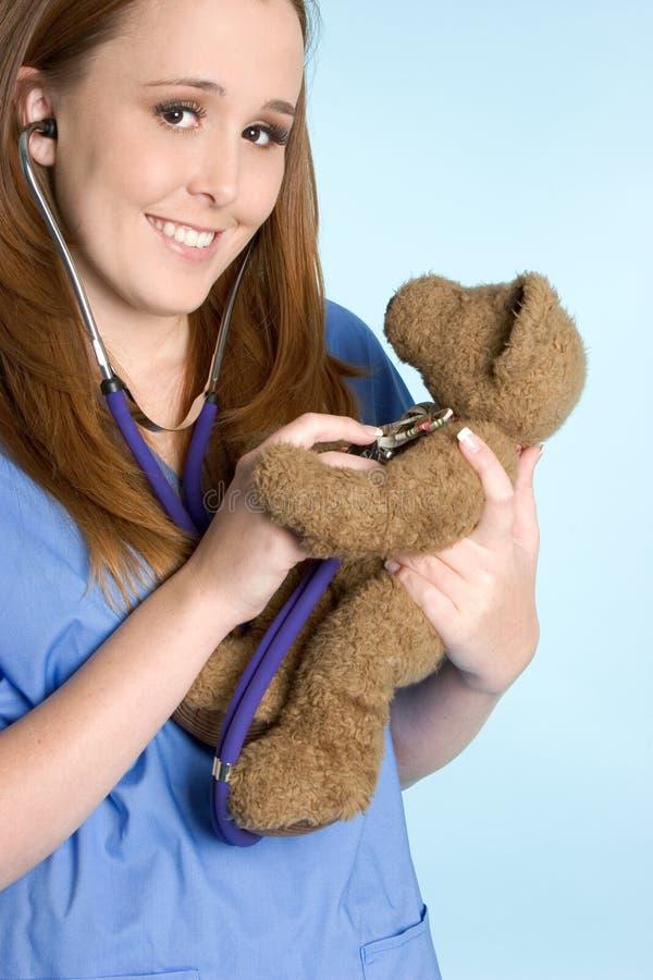 björnsjuksköterskanalle royaltyfri bild