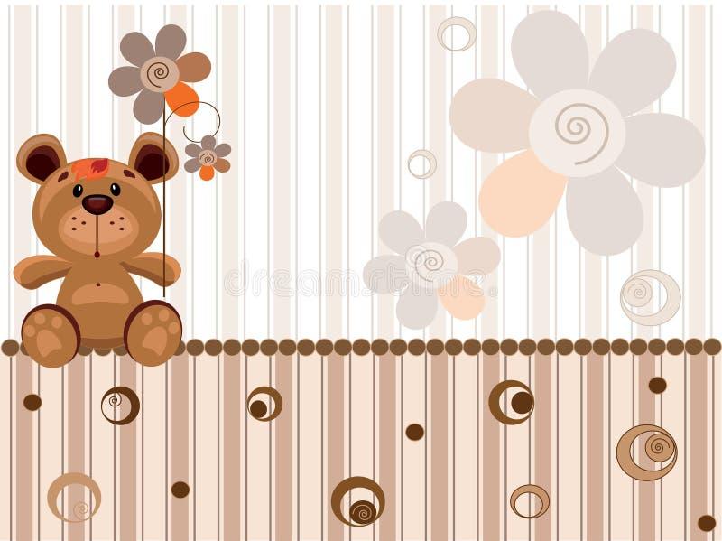 björnstaket stock illustrationer