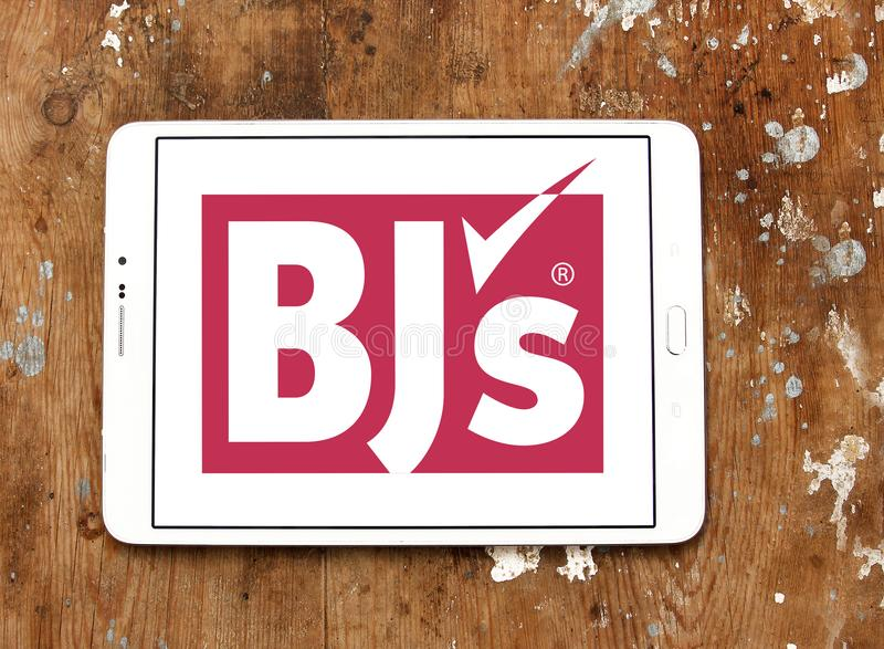 BJ`s Wholesale Club logo stock photo