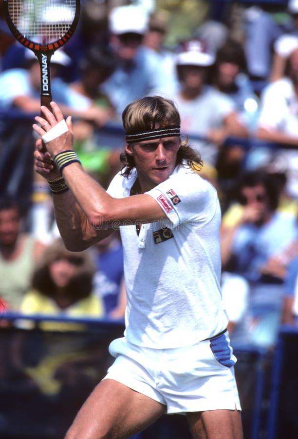 Bjorn Borg Tennis stock foto's