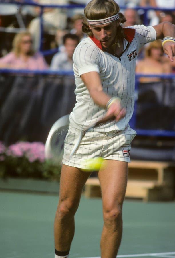 Bjorn Borg Tennis fotografía de archivo