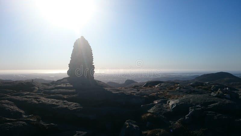 Bjorndalsfjellet stockbilder