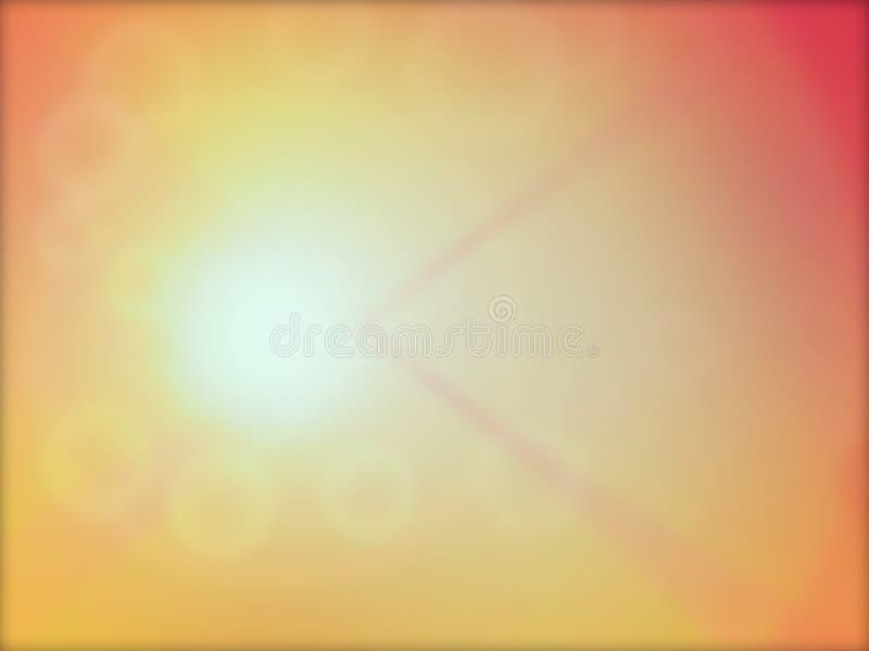 bkurry泡影温暖 免版税库存图片