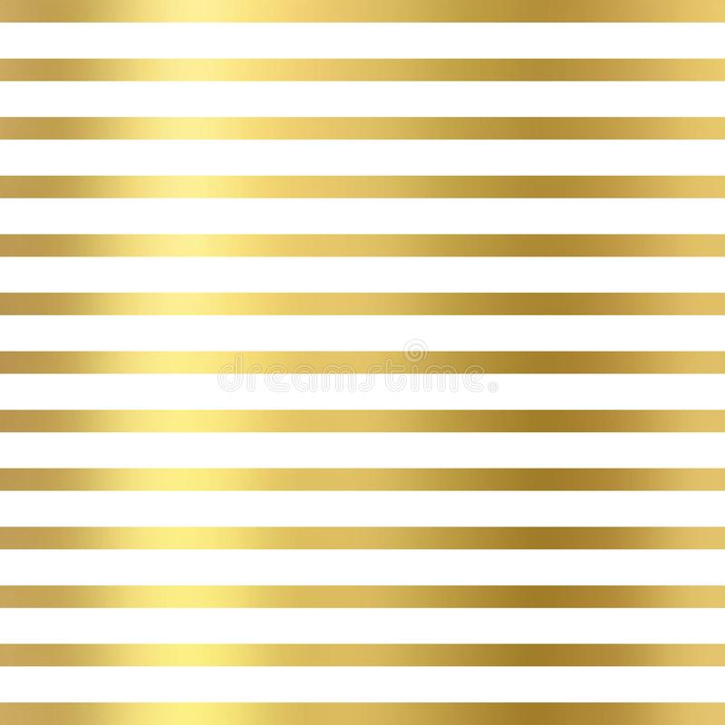 Blänka linjer som är geometriska på vit bakgrund, guld- textur Blänka linjer modell Blänka den geometriska tapeten royaltyfria bilder