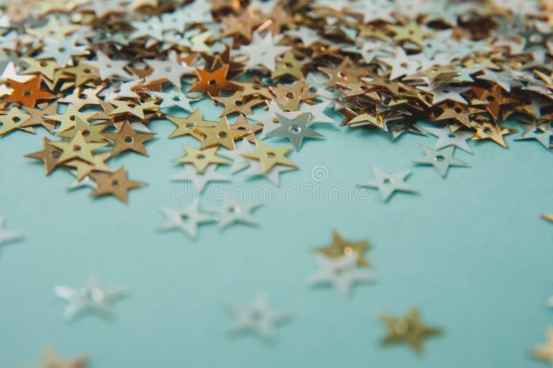 Blänka stjärnabakgrund royaltyfri foto