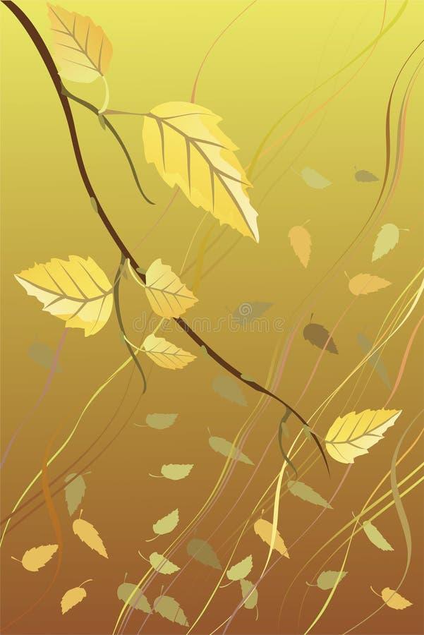 Blätter stock abbildung