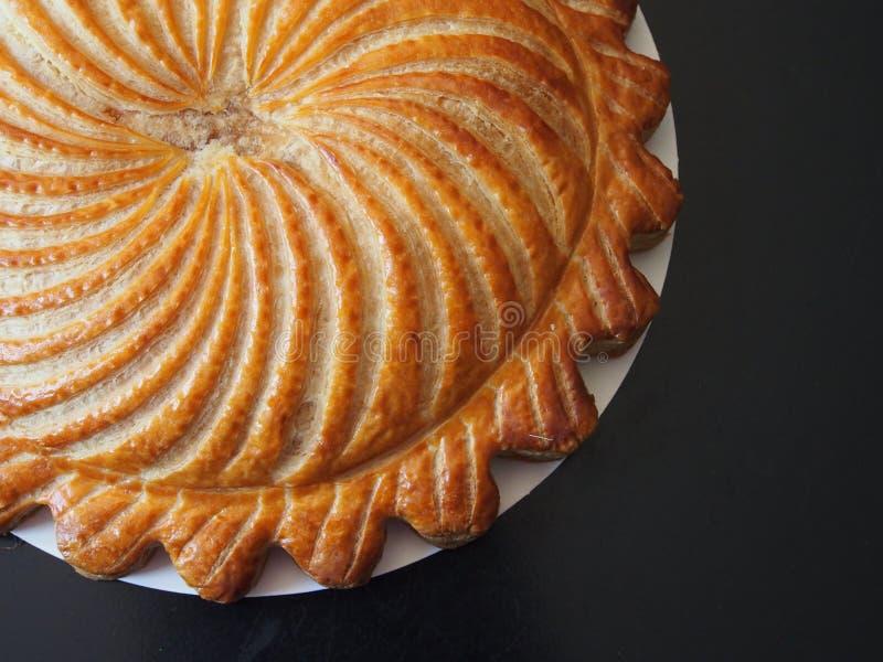 Blätterteig-Königkuchen stockbild