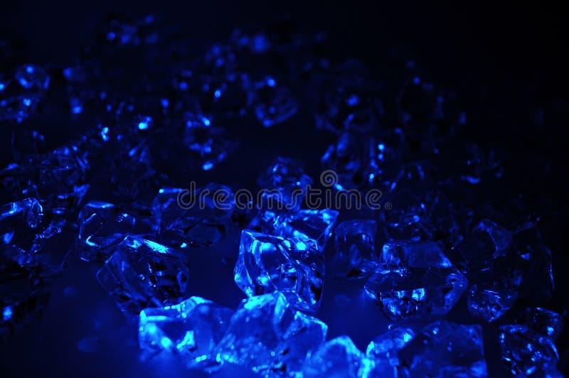 blå is royaltyfri fotografi