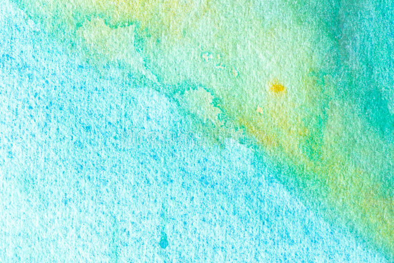 Blå abstrakt bakgrund för vattenfärgmakrotextur royaltyfri illustrationer