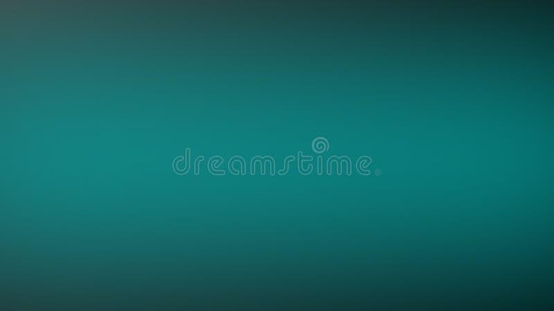 Blå abstrakt bakgrund med radiell lutningeffekt stock illustrationer