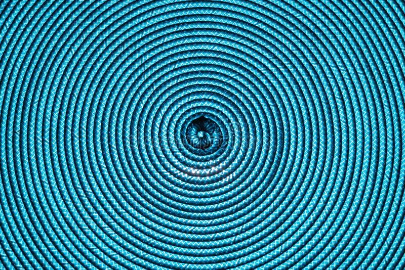 Blå abstrakt begreppspiralbakgrund arkivfoton