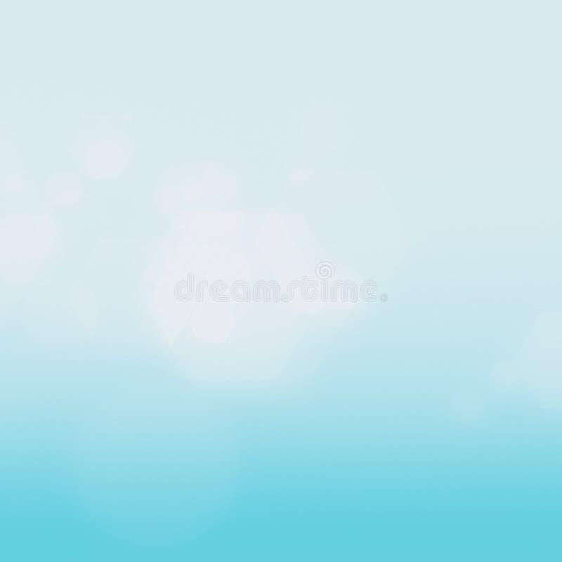 Blå abstrakt suddig lutningbakgrund i ljusa färger färgrikt vektor illustrationer