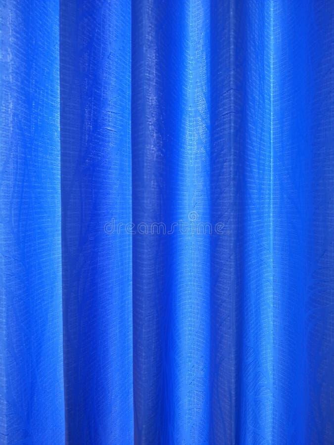 blå bakgrund för gardin royaltyfri foto
