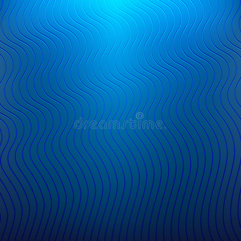 Blå bakgrund med krabba linjer