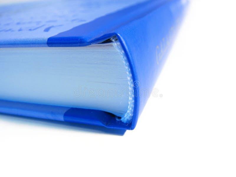 blå bok arkivbilder