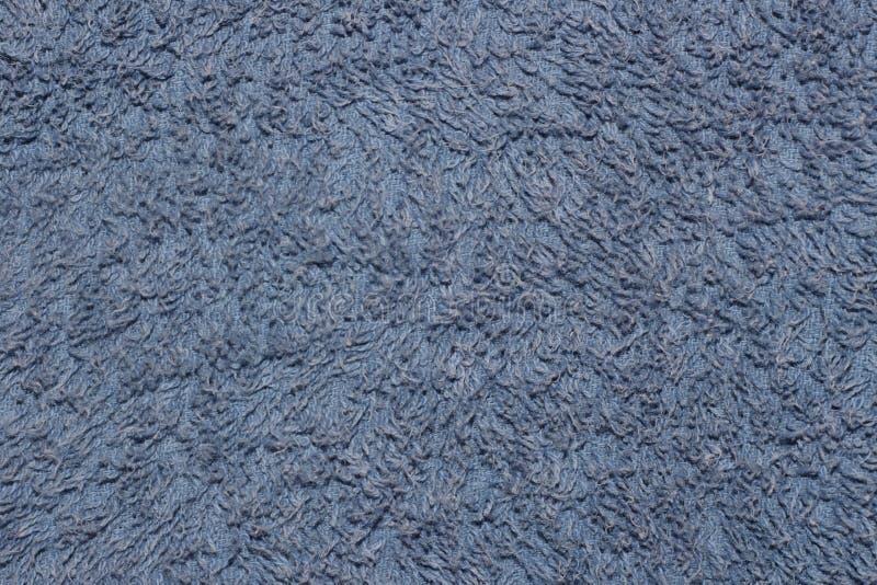Blå bomullsbakgrund royaltyfri bild