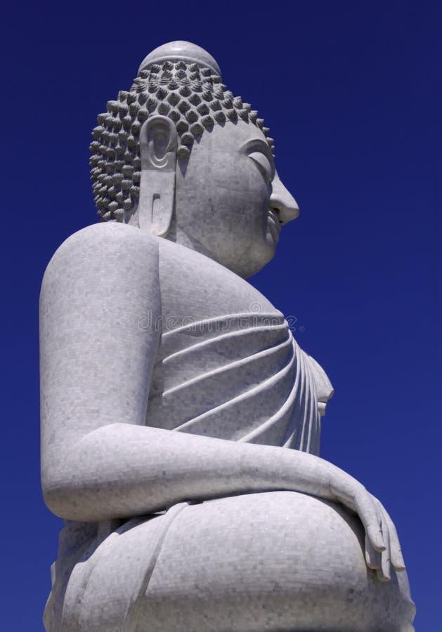 blå buddha sky fotografering för bildbyråer