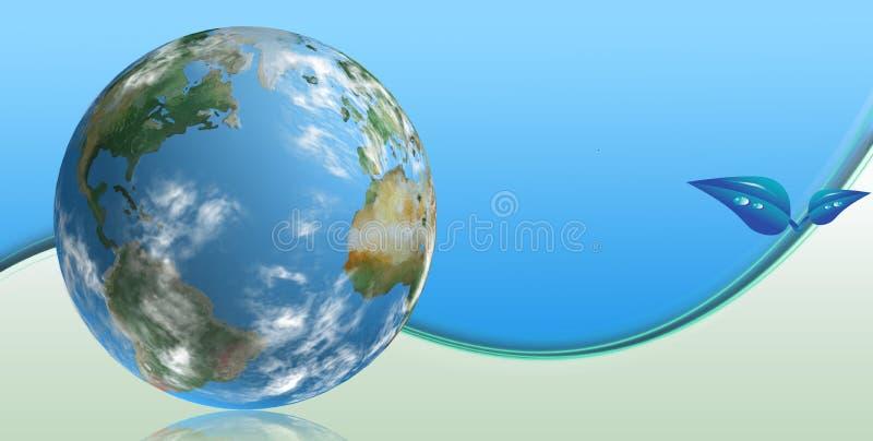 blå clean techvärld vektor illustrationer