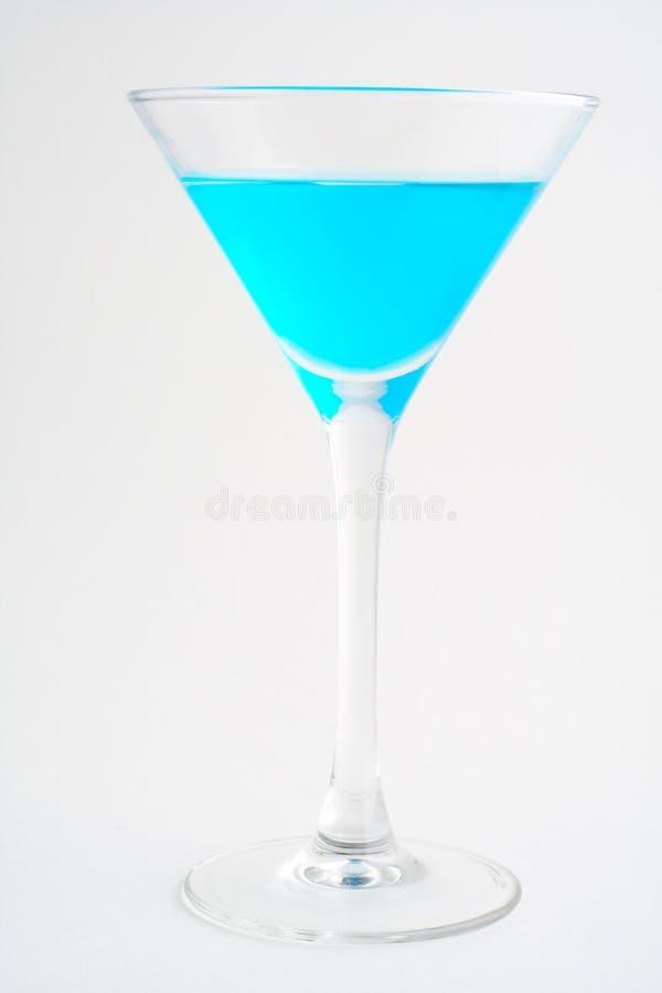blå coctail royaltyfria foton