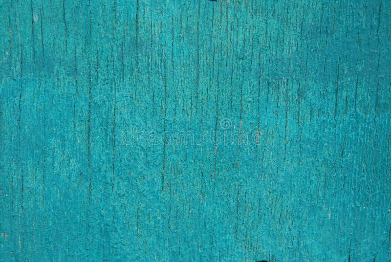 Blå Craked textur Gammal bakgrund för träCraked tappning Abstrakt vägg för textur fotografering för bildbyråer